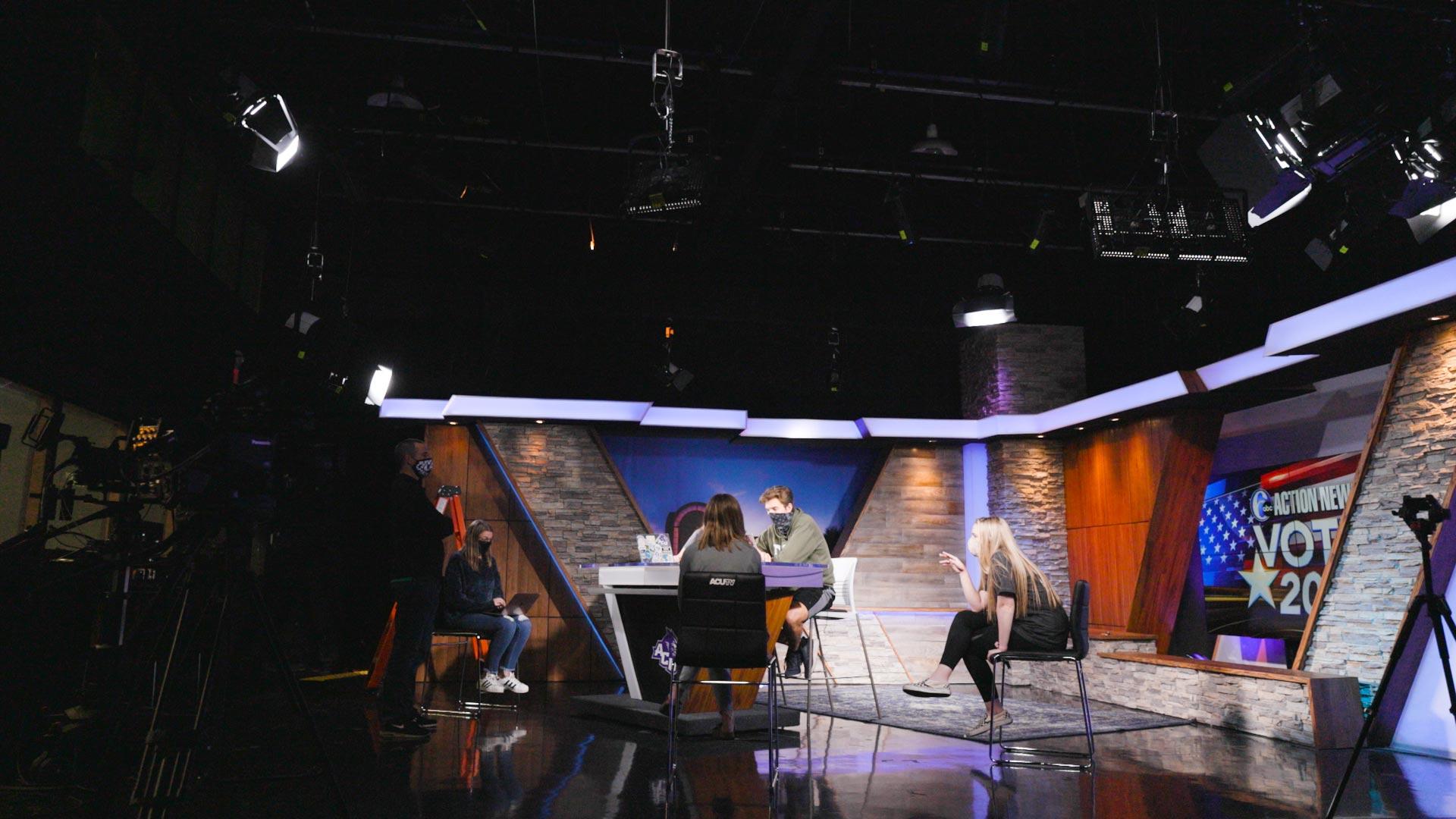ACUTV Election Night Show 2020 BTS Feature